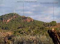 Roques i Coll de la Serra de Can Valent