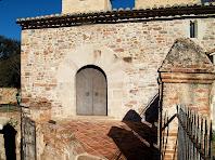 Porta d'entrada de Sant Esteve de Palaudàries