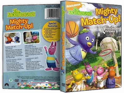 The Backyardigans, Mighty Match-Up! – El Duelo Poderoso. DVDRip, latino Backyardigans