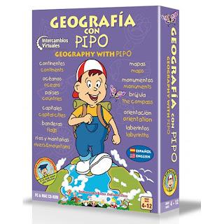 Geografía Con Pipo – Gran Variedad De Juegos Viajando Por El Mundo