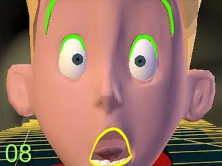 "Animating a facial ""TAKE"""