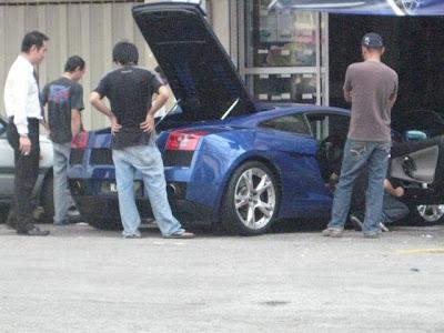foto Kereta Yusry KRU - Lamborghini
