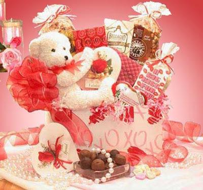 Ghirardelli Valentine Gift Tote A lot of men dread Valentine's Day.