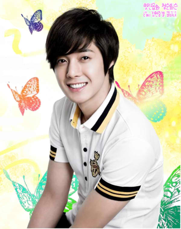 kim hyun joong wallpaper. [Photo] Kim Hyun Joong HANGTEN
