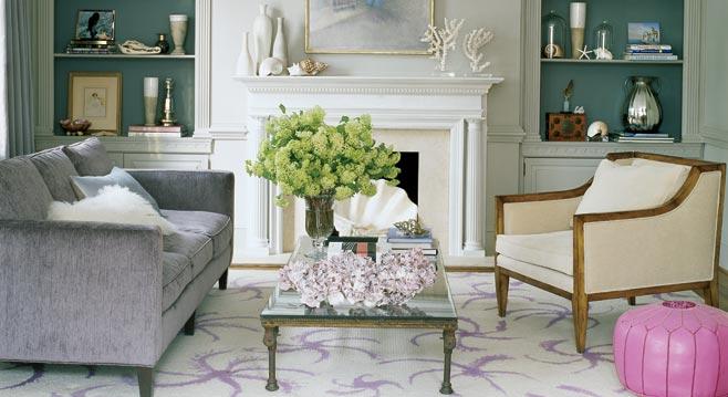 asymmetrical decor