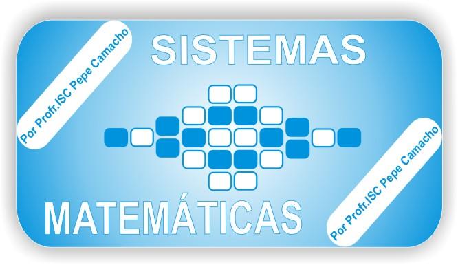 SISTEMAS COMPUTACIONALES Y MATEMÁTICAS