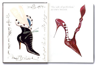 Manolo Blahnik drawings, foreword by Anna Wintour
