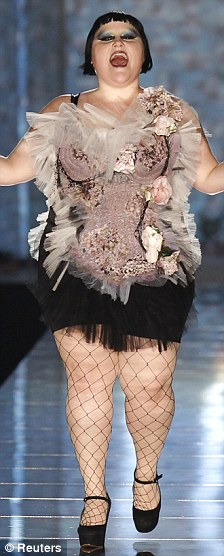 Beth Ditto for Jean-Paul Gaultier, RTW Spring 2011