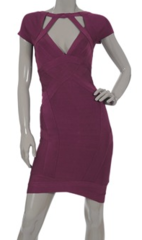 Herve Leger dress, Girl Meets Dress