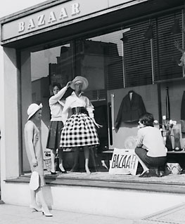 Mary Quant's boutique, King's Road, Chelsea