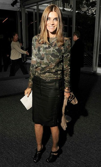 Carine Roitfeld, New York Fashion Week