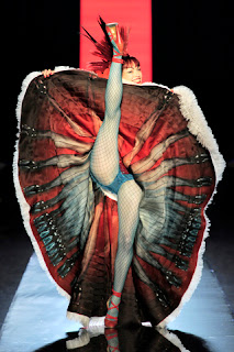 Jean Paul Gaultier Spring 2011 Couture, can-can dress
