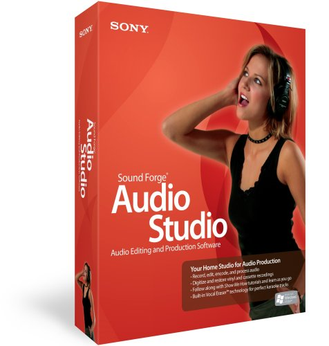 Sony Sound Forge Audio Studio - мощный звуковой редактор, содержит все необ