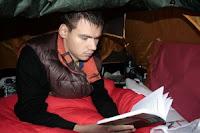 Konstantin Gołoskow (Gołoskokow) na granicy litewskiej