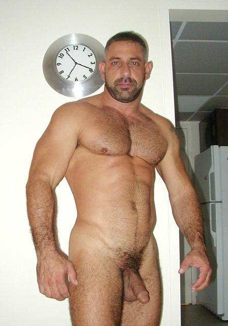 naked muscle bears