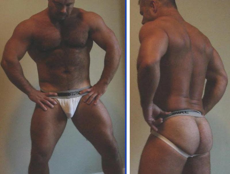 jockstrap, ass,  bear,  underwear