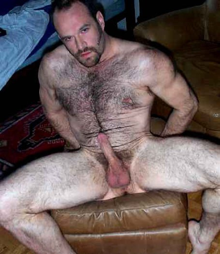 Bear Hairy Cock Handsome Daddy