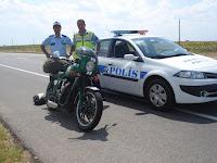 Elvis with Turkish Policeman