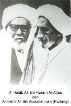 AL-HABIB ALI BIN HUSSEIN AL-ATTAS & AL-HABIB ALI BIN ABDURRAHMAN