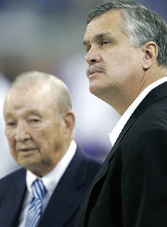 Matt Millen and Lions owner William Clay Ford