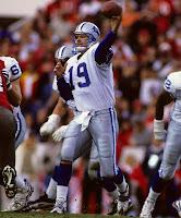 Detroit Lions quarterback Scott Mitchell