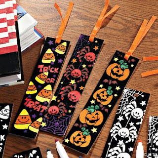 Printable Bookmarks For Halloween