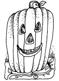 halloween pumpkin coloring printables