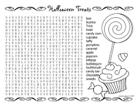 halloween word search game
