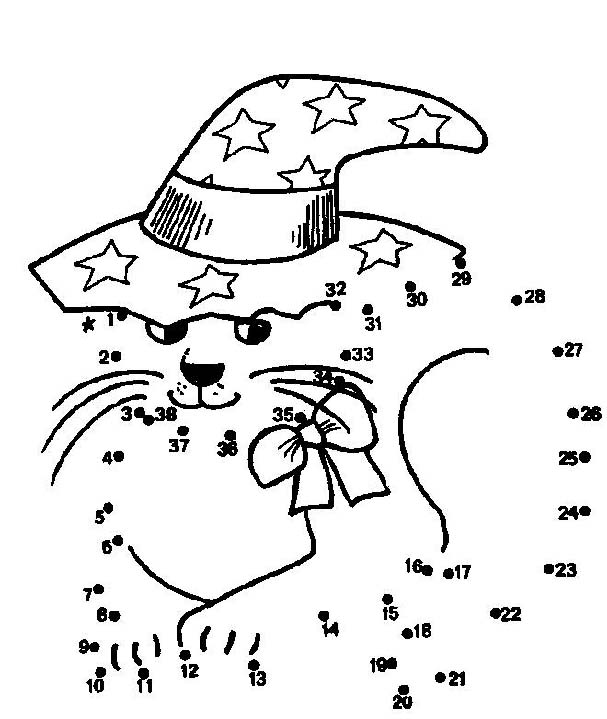 Dot To Dot Worksheets