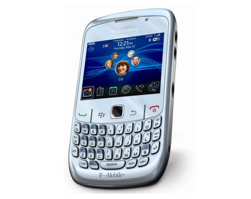 The BLACKBERRY CURVE 8520