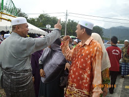 Hj Razman bersama YB Idham Lim