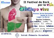 II FEST. DE ROCK POR LA VIDA - CHICLAYO VIVE