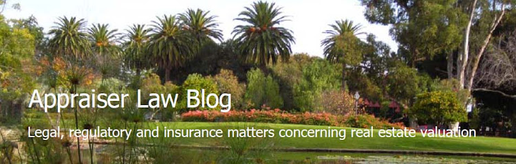 Appraiser Law Blog