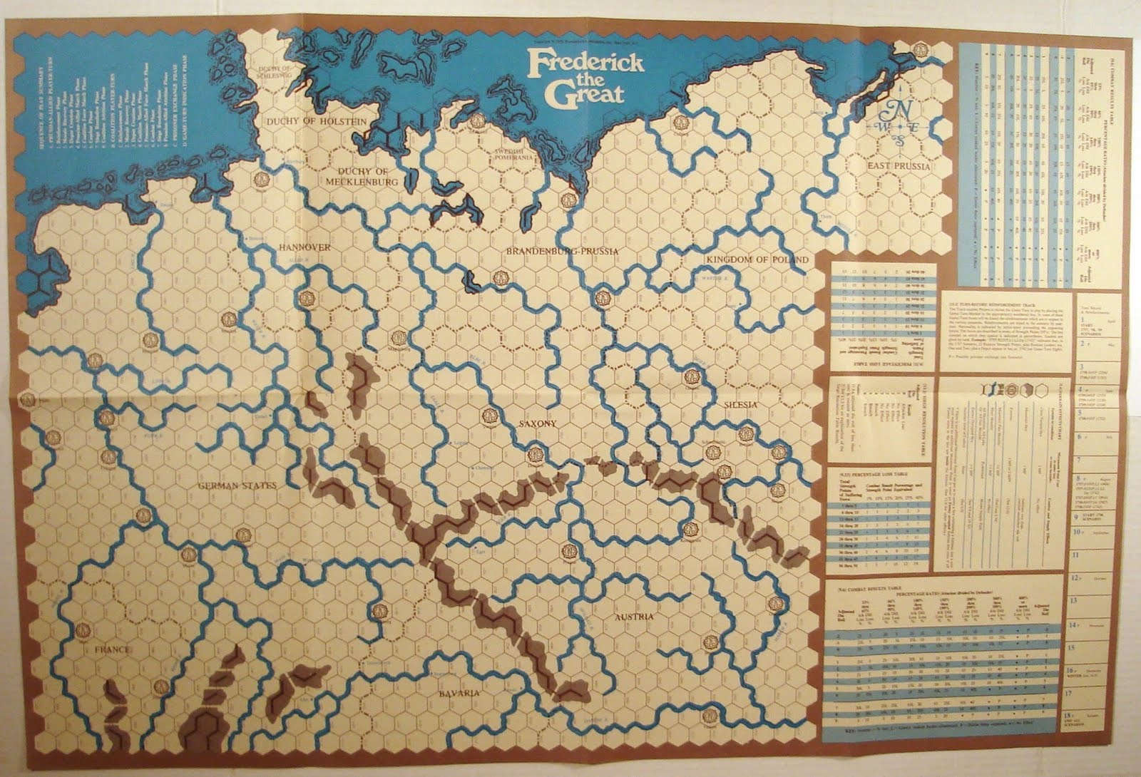 Map and counters spi frederick the great 1975 one complete game turn is equal to fifteen days of real time a typical player turn proceeds as follows reinforcement phase morale recovery phase publicscrutiny Images