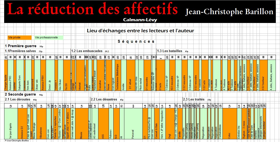 LA REDUCTION DES AFFECTIFS