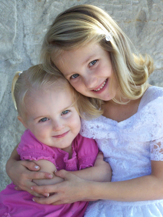 My Little Sweeties, Emersyn and Isabella.  These two little girls are truly best friends.