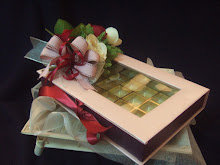 Box for chocolate by Kayu Manis Klasik for Myra's engagement