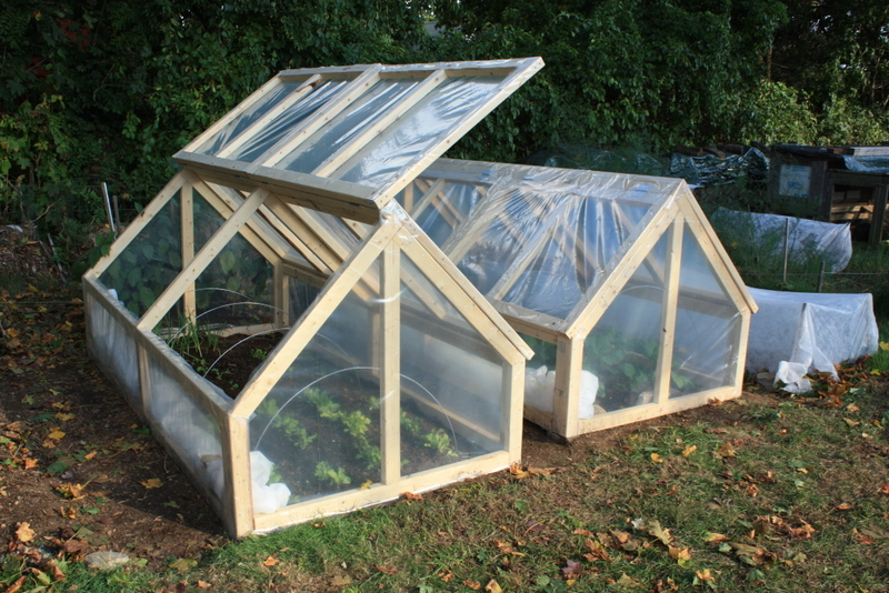Bepa 39 s garden finishing the mini greenhouses for Home garden greenhouse design