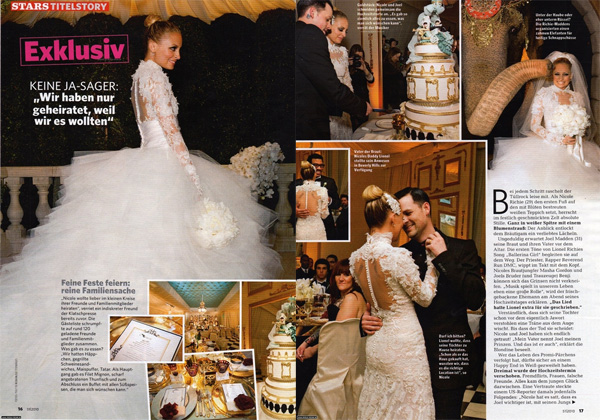 Style in Town: Nicole Richie's Marchesa Wedding Dress