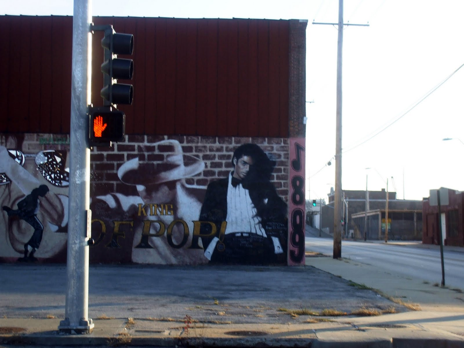 Peggy eldridge love a michael jackson mural in the for Jackson 5 mural