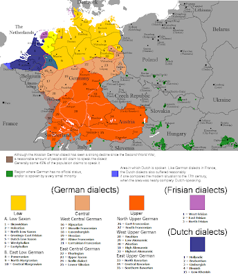 Page F Differences Between The Two Norwegian Standards Bokmål - Norway language map