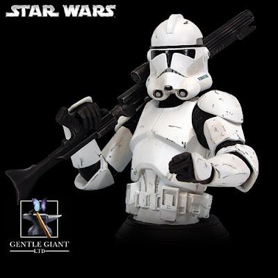 Star Wars Clones Troopers. Clone Trooper Bust