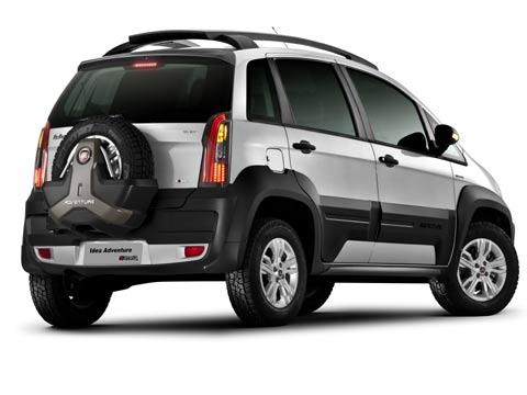 Paixao por carros for Fiat idea adventure 2011 precio argentina