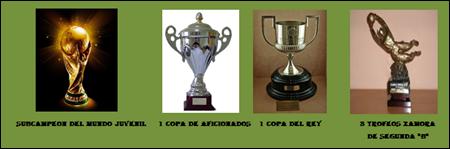 Trofeos colectivos e individuales