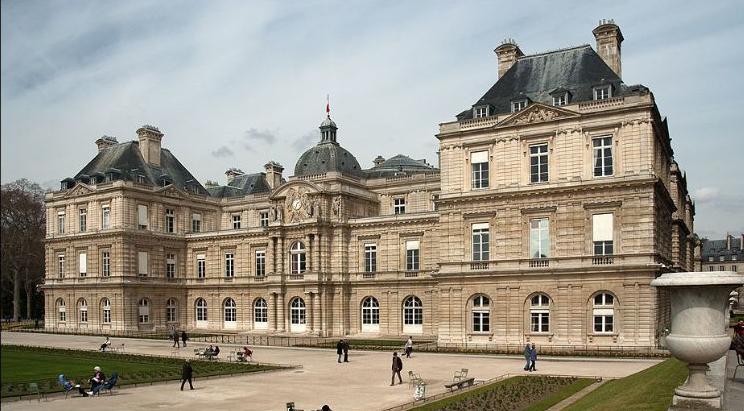 Architecture of paris palais du luxembourg et jardin for Architecture de jardin