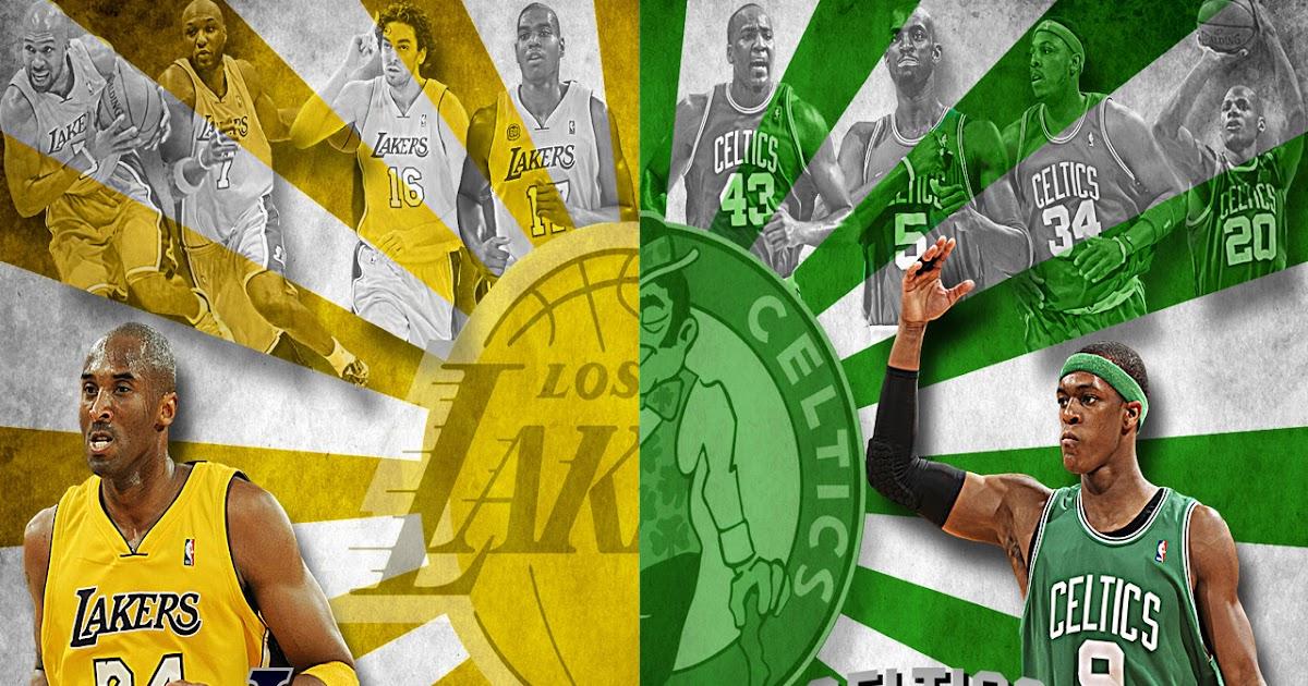 NBA Wallpapers: Lakers vs Celtics - NBA Finals
