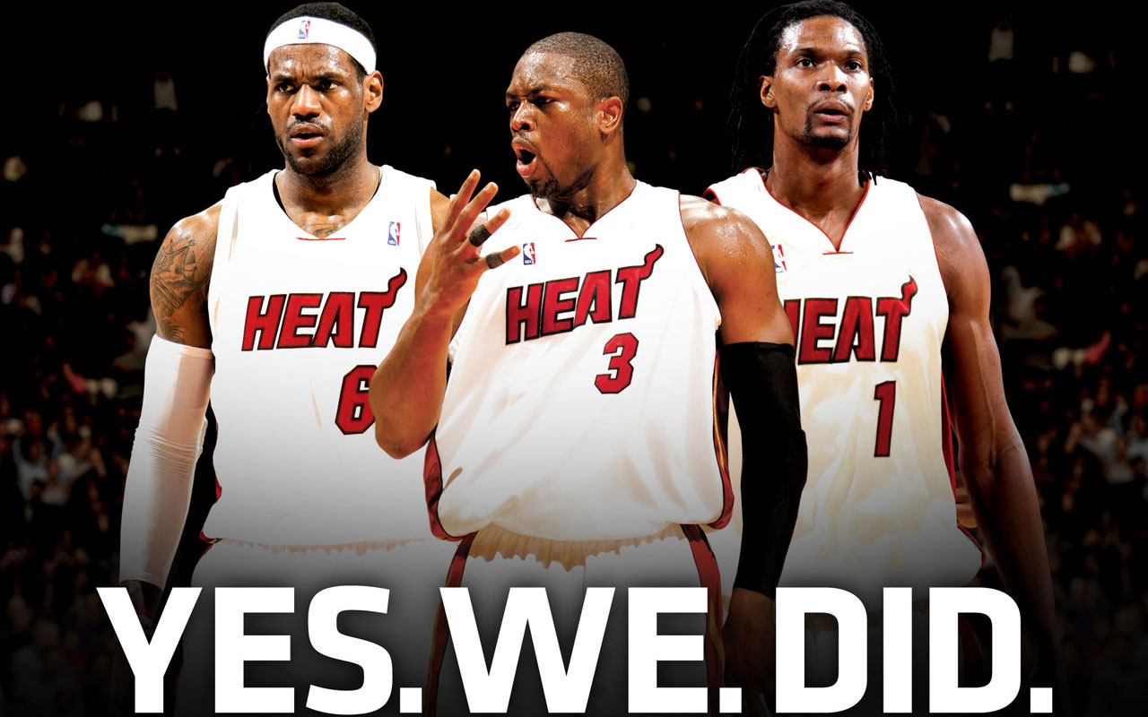 Miami Heat - Lebron James,