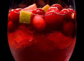 Spiced Cranberry Sangría Recipe
