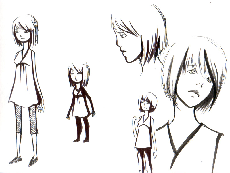 A Creators Trove Character Designs Part - Anime bob hairstyle