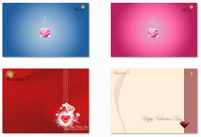 valentine day theme windows 7